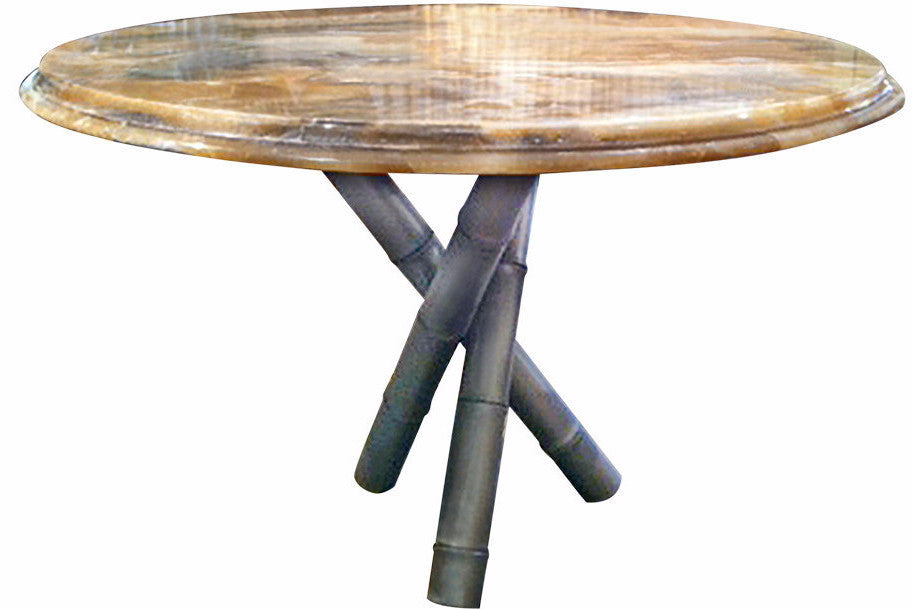 Bamboo Tripod Table