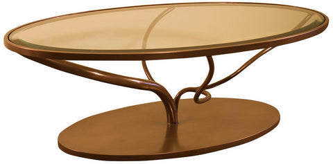 Oval Vine Cocktail Table