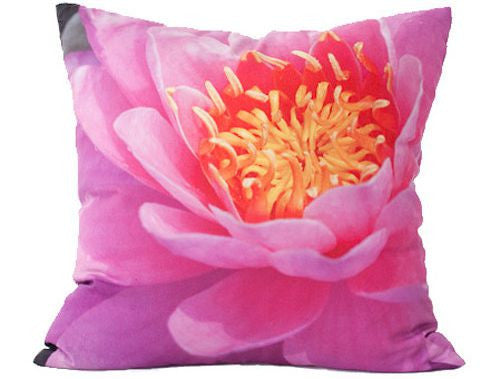 Lotus Flower Pillow