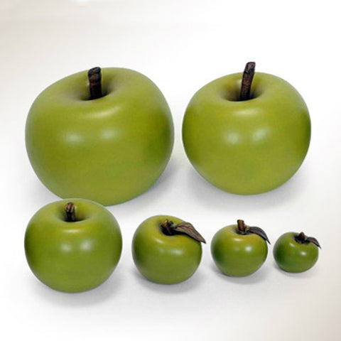 Ceramic Apple with Ceramic Stem
