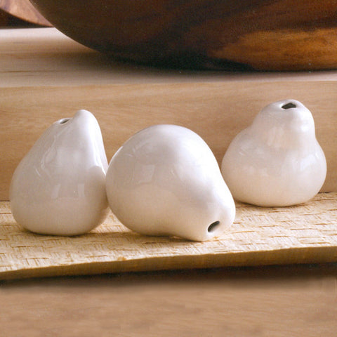 Porcelain Pear Vase (Set of 3)