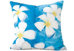 Plumeria In Water Pillow