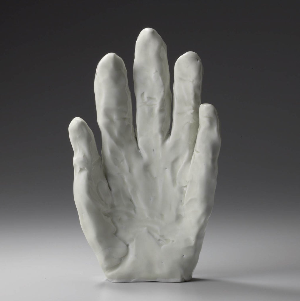 Alice Corning Sculpted Hand Porcelain