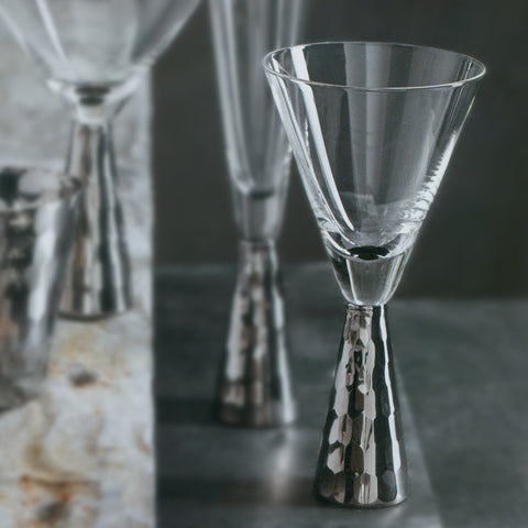 Platinum Verglas Wine Glasses