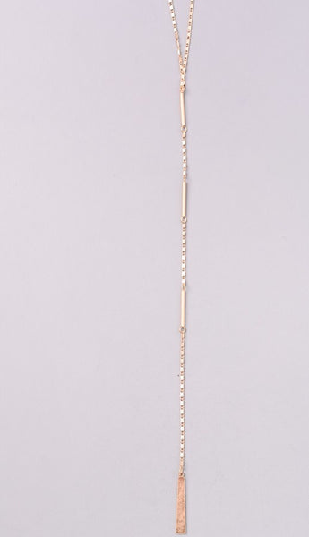 Dawson Drop Lariat Necklace