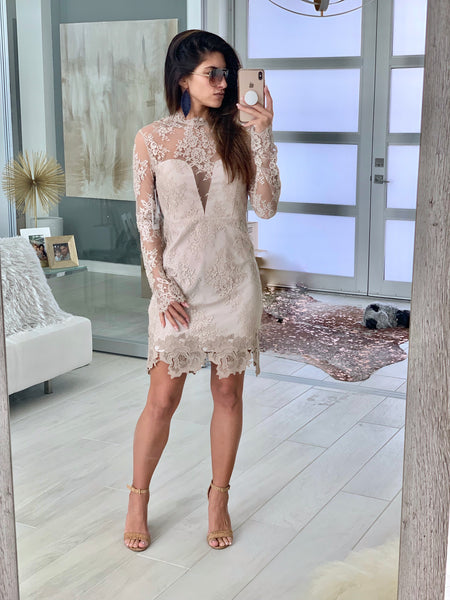 Leondra Lace Dress