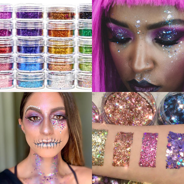 Fun Fetti Face and Body Glitter