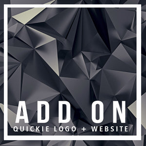 Quickie Logo + Website