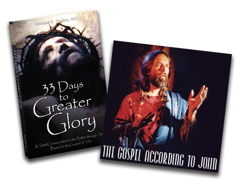 Greater Glory  Book & Gospel of John CD Combo