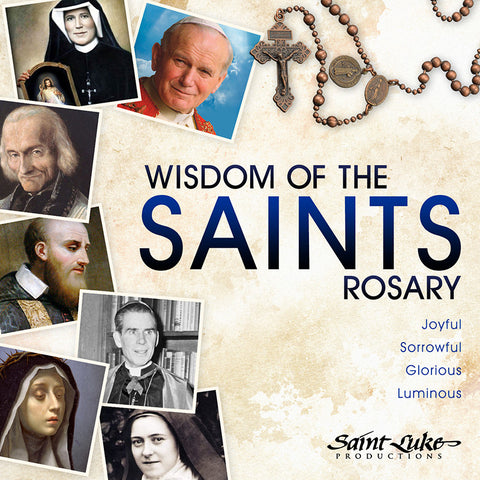 Wisdom of the Saints Rosary  (CD)