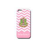 Pink Chevron Cell Phone Case