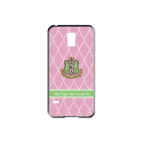 Quilted Pattern Cell Phone Case Design