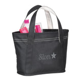 Silver Star Tote Bag