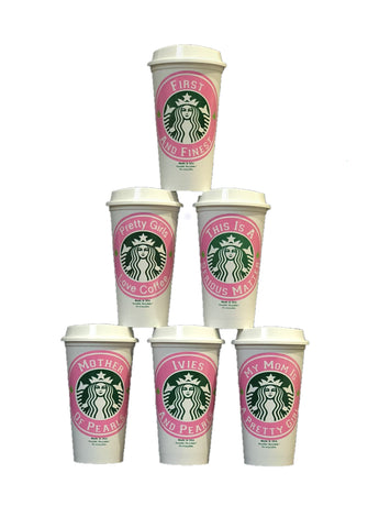 Reuseable Starbucks Cups