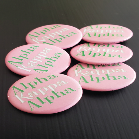 Alpha Kappa Alpha Button