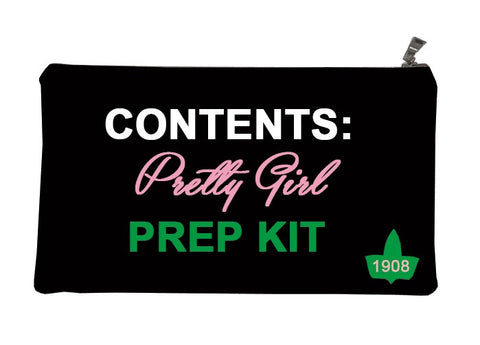 AKA Pretty Girls Prep Kit Makeup Bag