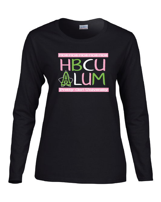 AKA HBCU Shirt Long Sleeved
