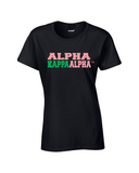 Black Alpha Kappa Alpha Shirt