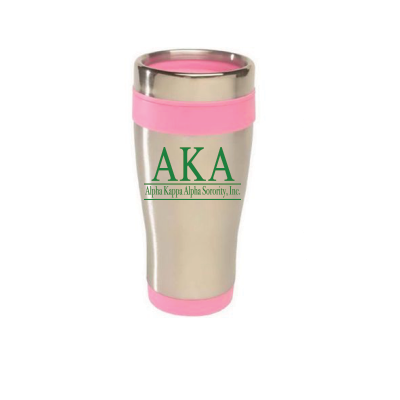 AKA Stainless Steel Travel Tumbler