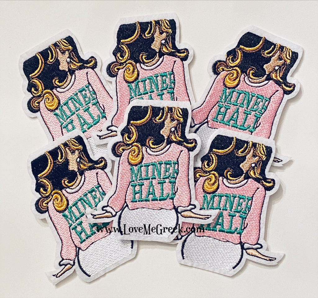 Miner Hall Lady Patch
