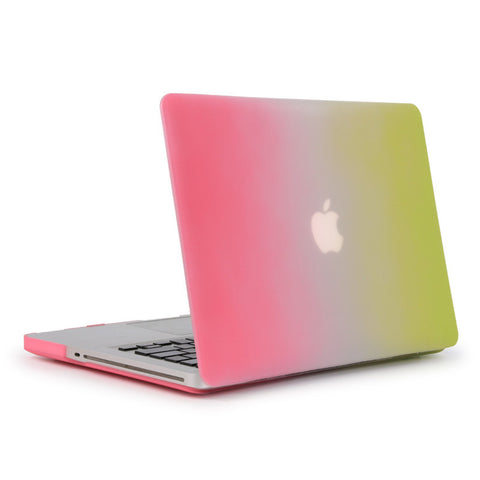 Pink and Green Laptop Case