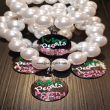 AKA Ivies Pearls & Pretty Girls Charm