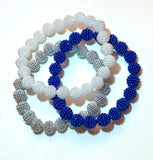 Mini Pearl beaded Zeta bracelets