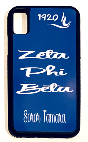 Zeta Phi Beta Cell Phone Case Design