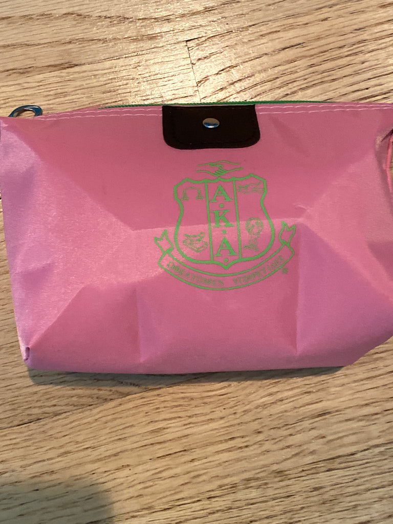 Pink Shield Accessories Bag