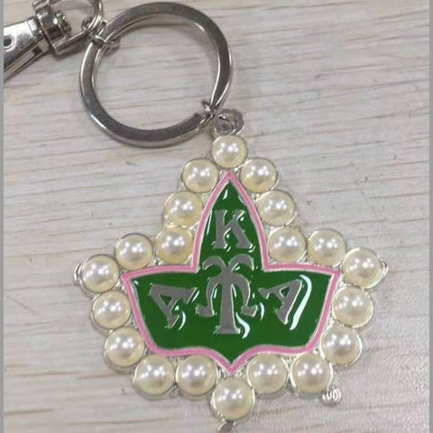 Ivy Badge Keychain