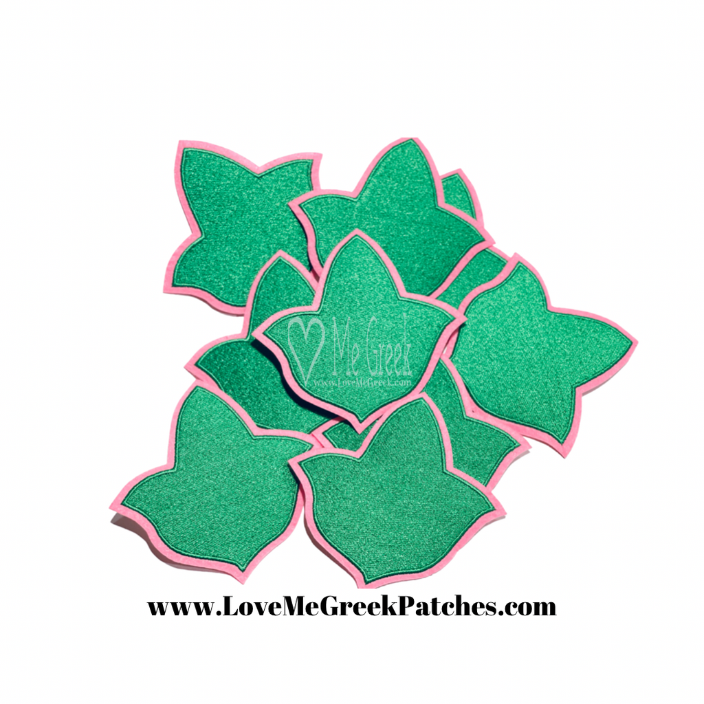 AKA Ivy Leaf Iron-On Patch