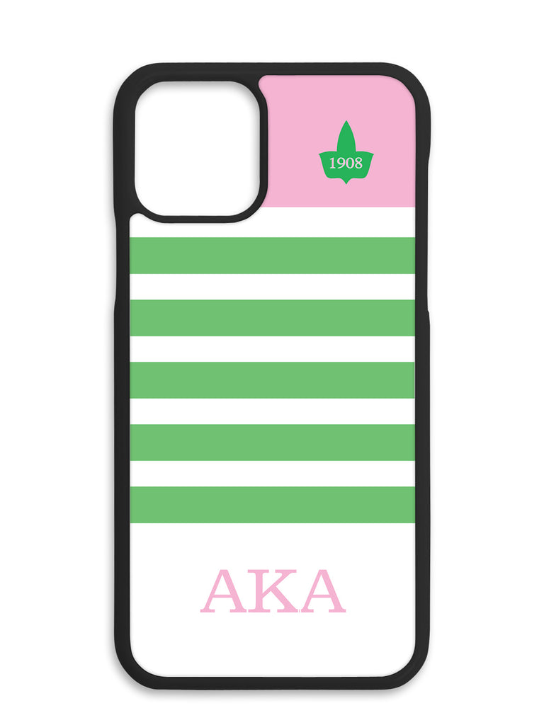 Pink Top Line with Ivy Cell Phone Case Design