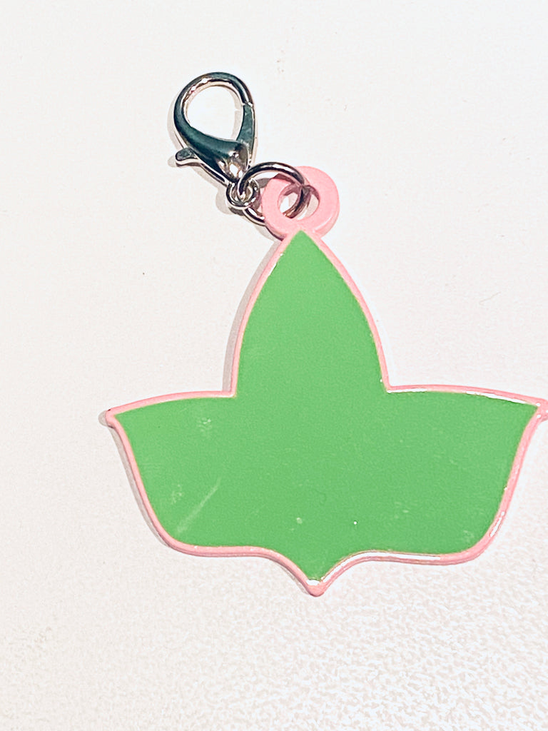 Ivy Key Ring Charm