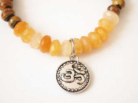 Joyful Yellow Jade Bracelet