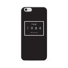 iPhone 6 Case Black Cool Design - 1984