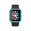 Blue Ultra Slim Soft Silicon Snap On Case for Apple Watch / Apple Watch Sport ( 42mm / 38mm)