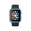 Matte Blue Ultra Slim Soft Silicon Snap On Case for Apple Watch / Apple Watch Sport ( 42mm / 38mm)