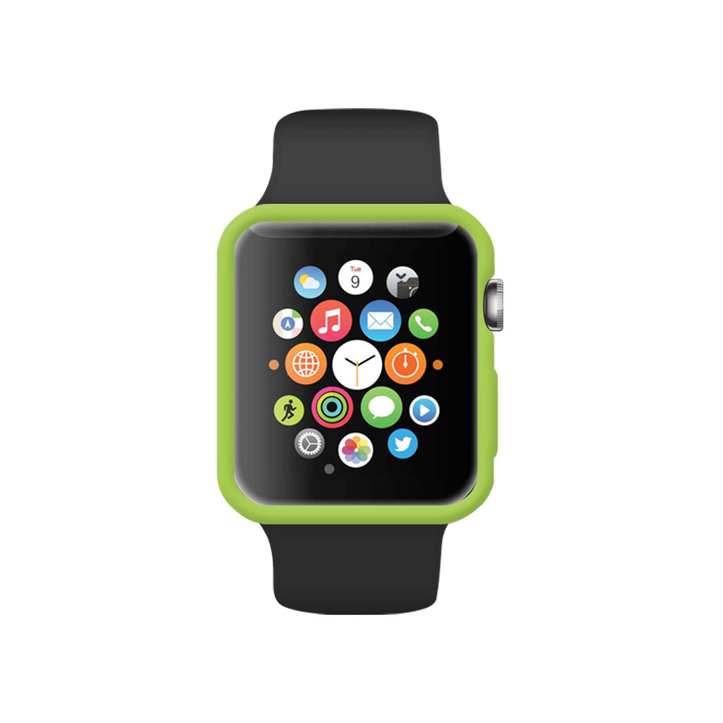 Matte Green Ultra Slim Soft Silicon Snap On Case for Apple Watch / Apple Watch Sport ( 42mm / 38mm)
