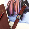 Apple Watch Leather Strap Band  38mm / 40mm  , 42mm / 44mm