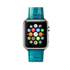 Turquoise Apple Watch Leather Strap Band  38mm / 40mm  , 42mm / 44mm