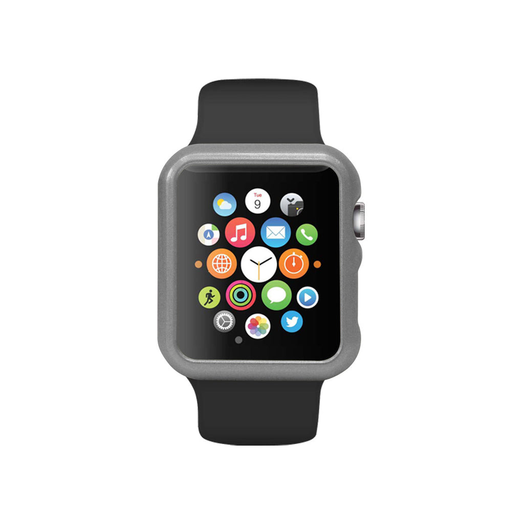 Space Grey Ultra Slim Hard Snap On Case for Apple Watch / Apple Watch Sport ( 42mm / 38mm)