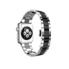 Silver with Space Grey Stainless Steel Strap Band Bracelet for Apple Watch / Apple Watch Sport / Apple Watch Edition at Ultra-case.com