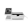 Aluminium Dock Station for iPhone and Apple Watch - Silver