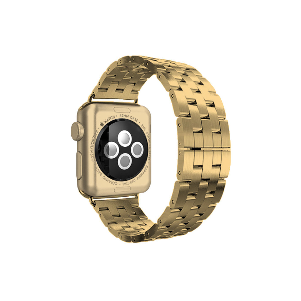 Yellow Gold Stainless Steel Strap Band Bracelet for Apple Watch / Apple Watch Sport / Apple Watch Edition at Ultra-case.com