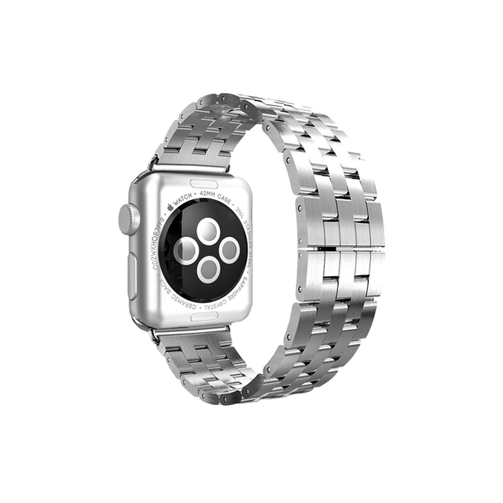 Silver Stainless Steel Strap Band Bracelet for Apple Watch / Apple Watch Sport / Apple Watch Edition at Ultra-case.com