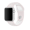 Soft Pink / White Perforated Sport Band compatible for Apple Watch / Apple Watch Sport ( 38 mm , 42 mm )