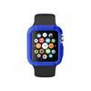 Blue Ultra Bumper Soft Silicon Snap On Case for Apple Watch / Apple Watch Sport ( 42mm / 38mm)