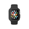 Black Ultra Bumper Soft Silicon Snap On Case for Apple Watch / Apple Watch Sport ( 42mm / 38mm)