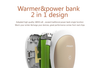 PISEN 7500mah Hand Warmer & Power Bank Multifunctional External Battery Pocket Heater Portable