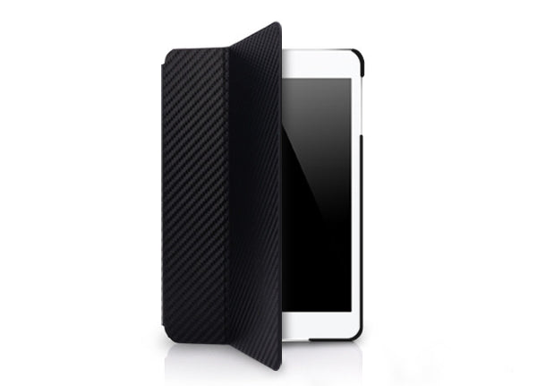 Hybrid Fabric Series for iPad mini Case - Black